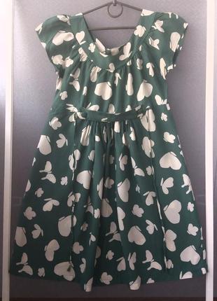 Хлопковое брендовое платье
