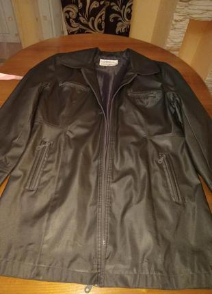 Куртка непромокаемая серая l-xl