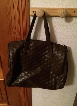 Стеганая сумка-мешок