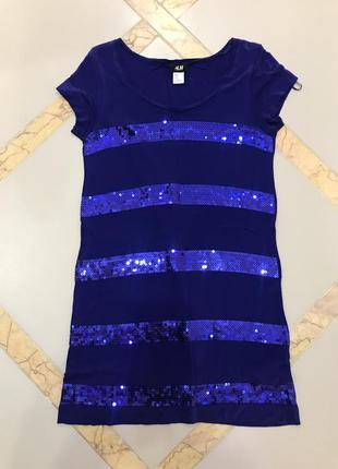 Платье h&m паетки