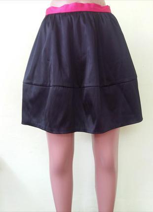 Юбка черная от h&m