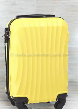 🔥качество! купить дорожный пластиковый чемодан для ручной клади валіза с доставкою