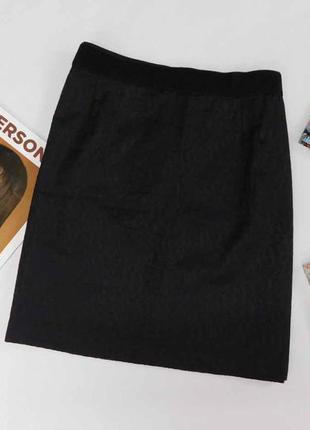 Черная облегченная юбка yessica размер 44 евро
