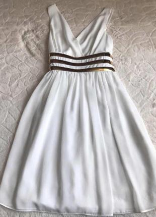 Белое платье в греческом стиле waggon paris