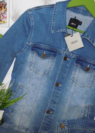 ef259a6e11e7 Джинсовые куртки женские 2019 - купить недорого вещи в интернет ...