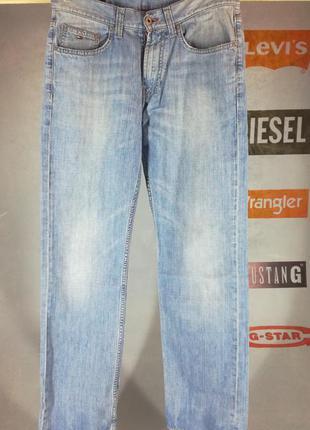 Мужские джинсы hilfiger w32l34 (левайс,левис,дизель)