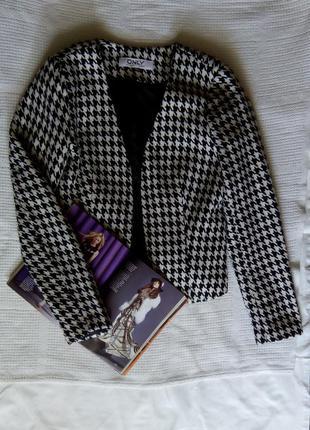 Жакет пиджак гусиная лапка