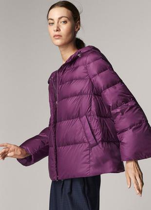 Ультротонкая пуховая куртка massimo dutti