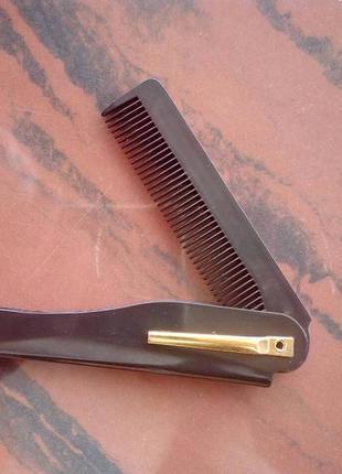 Расческа для волос и бороды мужская
