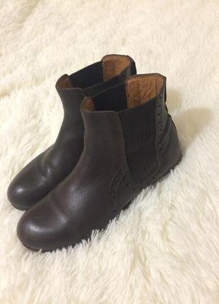 Челси ботинки сапожки ботильоны натуральная кожа