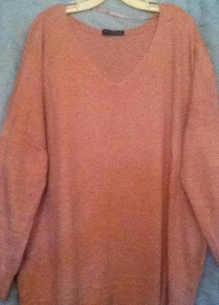 Теплый свитерок. 54-56-58 размера.