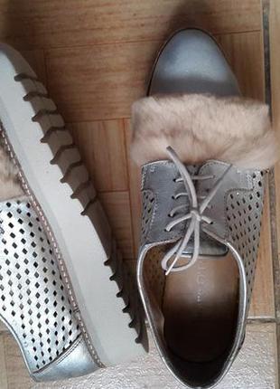 Серебрянные туфли