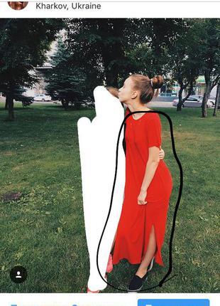 Платье-футболка pull&bear