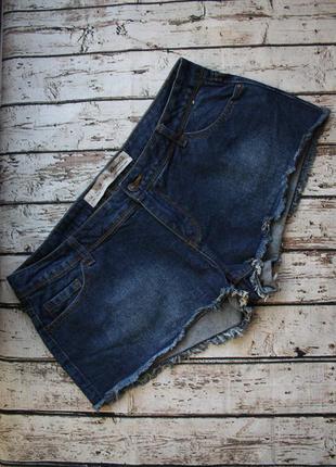 Стильные джинсовые шорты р.14
