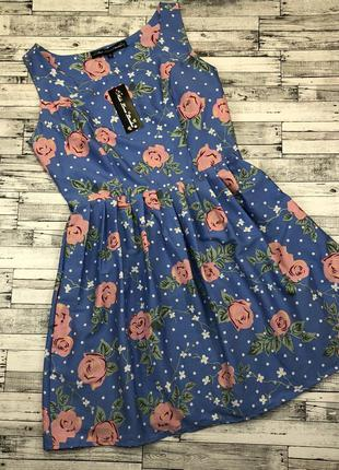 Очень крутое нежное платье, беби долл