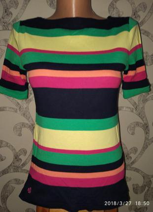 Брендовая шикарная кофточка футболка ralph lauren
