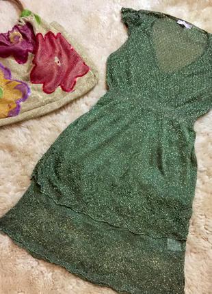 Необычное платье туника, р.42 оригинал италия