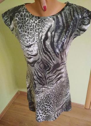 Красивое платье в паетки