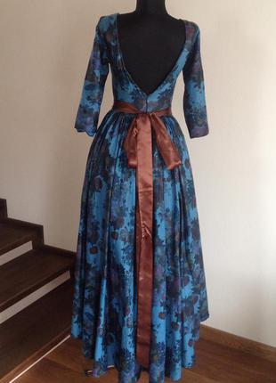 Дизайнерское выпускное вечернее платье.