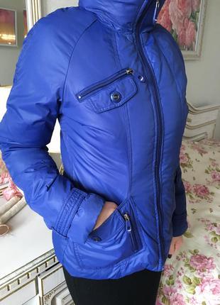 Фирменная куртка пуховик, размер m