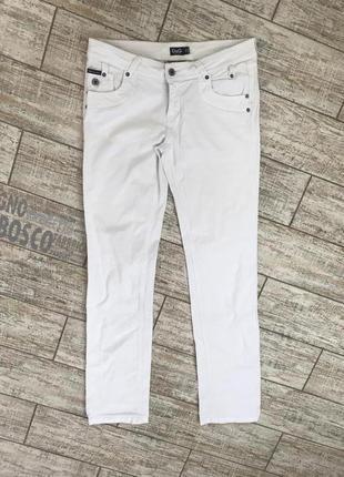 Белые джинсы dolce & gabbana оригинал#брюки#штаны#