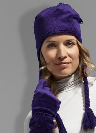 Комплект шапка и перчатки тсм tchibo