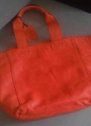 Сумка gap, ярко-оранжевая