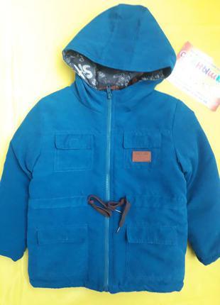 Куртка-парка деми на мальчика