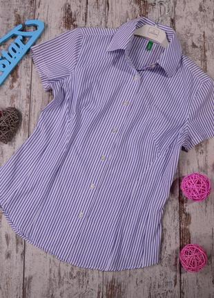 Рубашка в полоску benetton