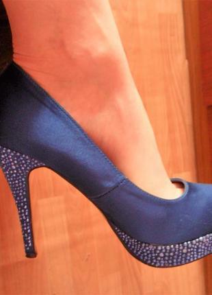 Туфли blossem с камнями