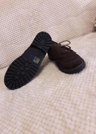 Замшевые мужские мокасины туфли3 фото