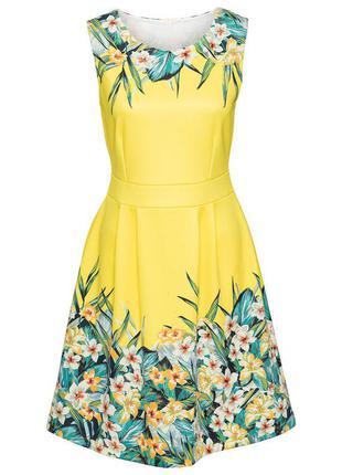 Платье с цветочным принтом bodyflirt