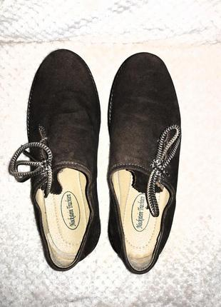 Замшевые мужские мокасины туфли5 фото