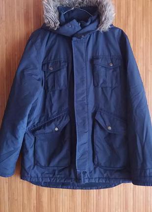 Стильная куртка парка marks&spenser  демисезон на 13-14лет 164 см