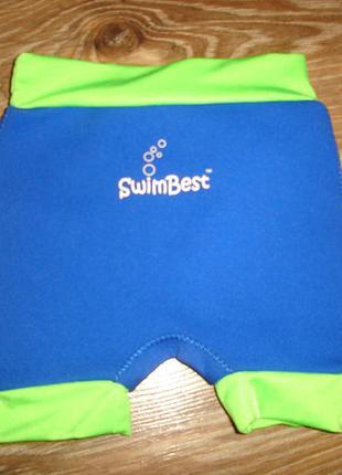 Трусики для бассейна, плавки из неопрена на 6-8 кг отличное состояние