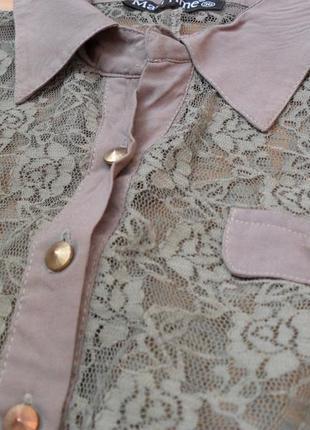 Гипюровая рубашка