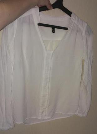 Mango хлопковая блуза рубашка