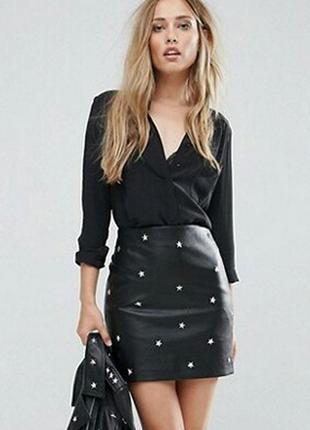 Базовая черная рубашка, блуза