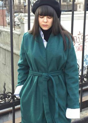 Дизайнерское пальто oljin со скидкой -65%