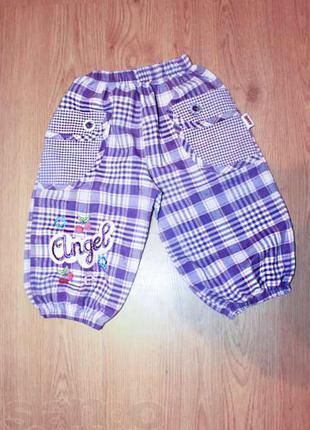 Капри (штаны) хлопковые на 5 лет