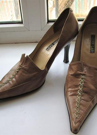 Туфли fashion lady vero cuoio