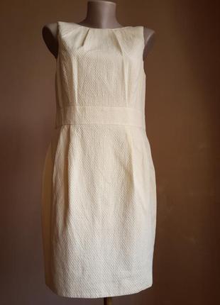 Люкс лимонное платье хлопок f&f британия