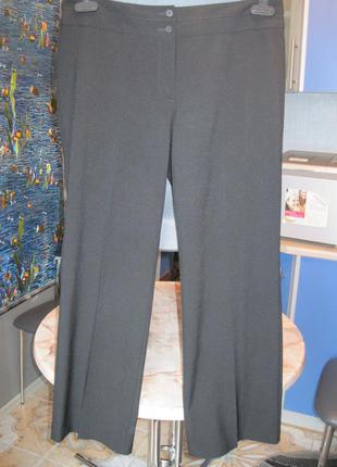 Брендовые брюки черные классика новые, р.14 (48-52 )