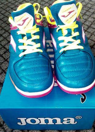 Новые фирменные спортивные кроссовки (футзалки) joma