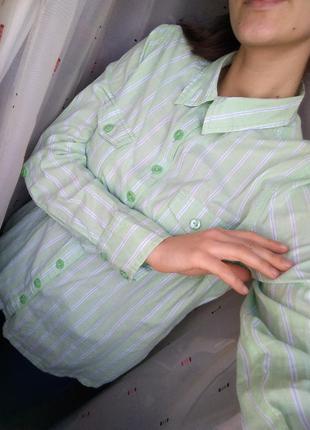 Красивая коттоновая рубашка от  papaya