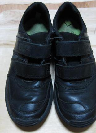 Детские кожаные кроссовки (кеды) clarks англия размер 35-36 (13) стелька 20,5 см