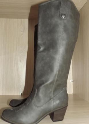 Сапоги ковбойские кожа mossimo 36,37 размер