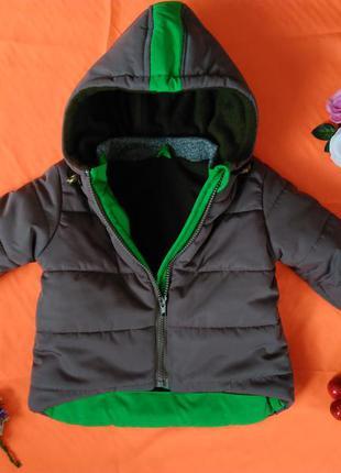 Весенняя курточка на мальчика 1-1.5 лет. рост 86-92