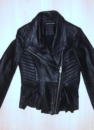 Куртка кожаная  в идеальном состоянии