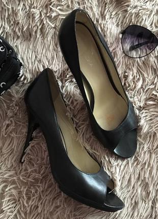Фирменные кожаные туфли braska 🖤